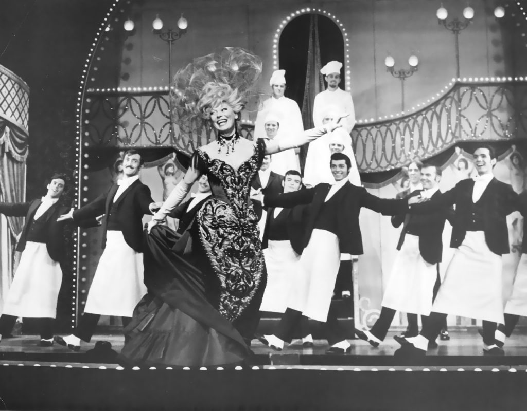 Carol Channing in Hello Dolly